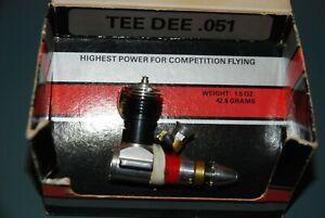 COX TD .051 Glow Engine