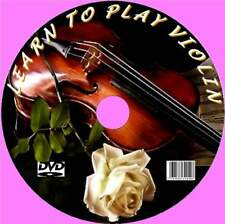 LEARN TO PLAY THE VIOLIN EASY LESSONS VIDEO DVD ROUTINES SCALES MAINENANCE CARE