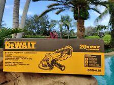 """Dewalt DCG412B 20V 20 Volt Max 4-1/2"""" Cordless Cut Off Tool Angle Grinder"""