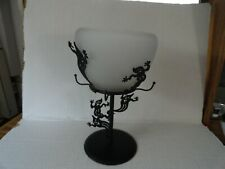 Partylite - Shadowdancers Ghost Tealight Lamp - P7797 - Halloween Votive Candle