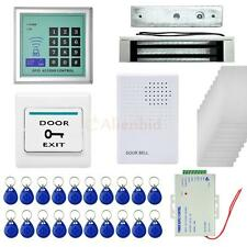 400LBS Door Access Controls Host Kit Electric Magnetic Lock Card/Password System