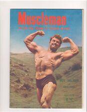 MUSCLEMAN  Reg Park Journal bodybuilding muscle magazine/ROY HILLEGEN 10-53 (UK)