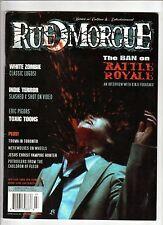 RUE MORGUE Magazine #26 Splatter Films KINJI FUKASAKU Horror GORE Terror 2002