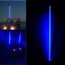New listing 6 feet Blue Color Led Whip Light with Flag Offroad Driving Utv Rzr Atv Us Stock