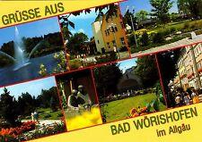Bad Wörishofen im Allgäu , Ansichtskarte ,2002 gelaufen