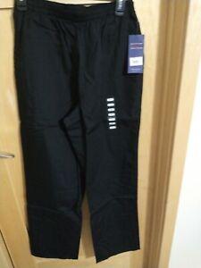 Cherokee Workwear Regular Pull-On Poplin Pant Style 4001 Black Size S