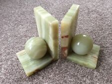 Onyx Green Bookends