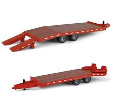 NEW 2016 *FIRST GEAR* 1:50 BEAVERTAIL TRAILER *RED* Diecast *NIB!*