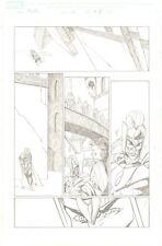 Thor #84 (586) p.16 - Ragnarok - Thor & Loki - 2004 art by Andrea DiVito Comic Art