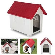 More details for modern plastic indoor outdoor animal shelter dog kennel pet cat  house uk