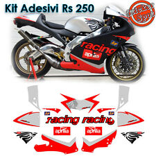 Kit Adesivi Moto Aprilia Rs 250 Racing Pista Track Leone Stickers Decalco Decal