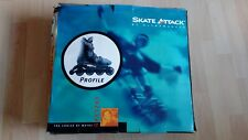 Skate Attack Ultrawheels Roller Blades Disc Brake  76mm wheel Wayne Gretzky
