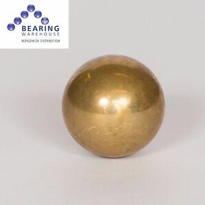 Single Brass Ball (Metric Sizes: 1mm to 12mm) Grade 500