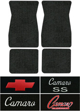 1970-1973 Chevy Camaro Floor Mats - 4pc - Loop