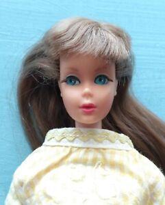 Vintage MOD TNT BARBIE GoGo CoCo Yellow Dress, Stamped Arm