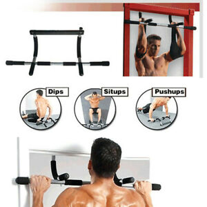 Pull Up Bar Door Fitness Exercise Chin Up Sit Up Strength Workout Gym Training