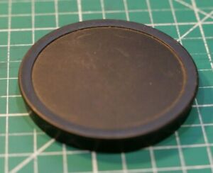 DOMED PLASTIC PUSH ON FRONT LENS CAP FOR VINTAGE LENSES 60MM