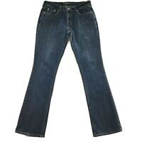 """Levis 515 Womens Jeans size 6 Long Tall x33"""" in Dark Wash Bootcut Cotton Stretch"""