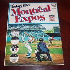 Montreal Expos 1971 Baseball Stars Sticker Album NL Eastern Division