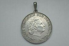 Münzanhänger Silber Niederlande 21/2 Gulden Juliana