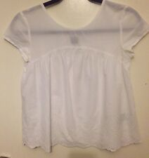 Girls Gap Embroidered Top Size XL 12 Years