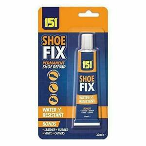 SHOE GLUE CLEAR 30ML GLUE -TRAINERS and ALL SHOE FIX WATER PROOF