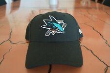 New Era San Jose Sharks Hat NHL Hockey Black Teal