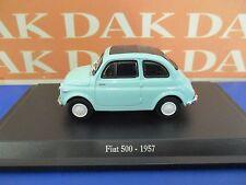 Die cast 1/43 Modellino Auto Fiat 500 1957 verde chiaro