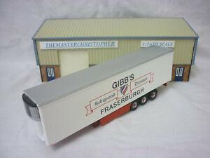 Oxford Diecast/Modern 1:76th Truck/Roadscene Gibbs Fridge Trailer