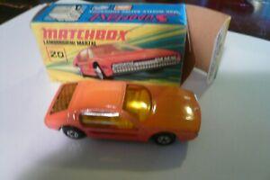 Matchbox Superfast #20 LAMBORGHINI MARZAL, NEW w/Original Box
