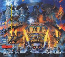 CAGE - Supremacy of Steel +1 / New OBI Japan CD 2012 / Power Metal U.S.