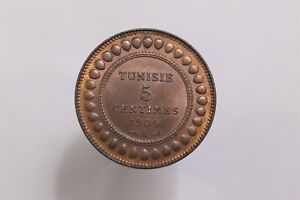TUNISIA 5 CENTIMES 1904 HIGH GRADE B31 #K7783