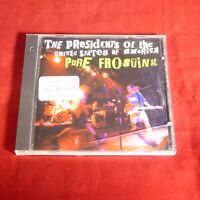 VIRGIN RECORDS PROMO CD Presidents of the United States of America Pure Frosting