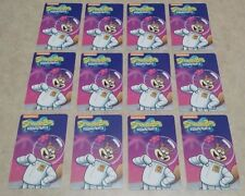 100 Sandy Cheeks Cards from Spongebob Arcade Coin Pusher - No Barcode!