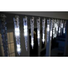 Gemmy LightShow  Shooting Star Christmas Icicle LED Falling Lights Show Snow 10'