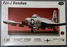 c1994 Testors 1:48 Scale, McDonnell F2H-2 BANSHEE Plane Model Kit, #522