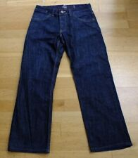 Mens Boys French Connection Jeans Waist 28 short indigo blue button fly
