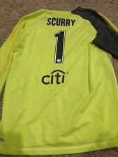 Game Used Soccer Jersey Worn By Brianna Scurry MLS WPS USA