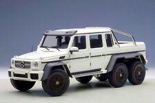 1:18 AUTOart  Mercedes-Benz G63 AMG 6x6 Matt White