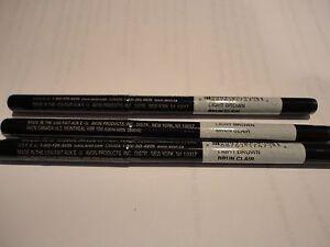 3 AVON glimmerstick brow definer liner pencil LIGHT BROWN ( 3 ) NEW discontinued