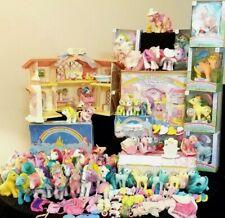My Little Pony Vintage 80's Mix Mlp ~ Rare~ figurine toys & Accessories Lot �
