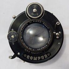 Meyer Gorlitz Veraplan 13.5cm f4.5 lens in Compur shutter