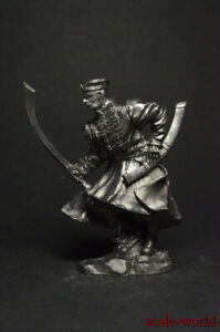 Tin soldiers figures Polish haiduk, 17th century 54mm