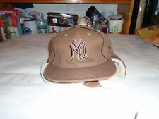 NY YANKEES NEW ERA FITTED WINTER HAT SIZE 7 NEW WITH STICKER