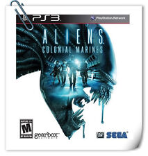PS3 ALIENS COLONIAL MARINES SONY PlayStation Action Games SEGA