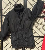 Eddie Bauer Goose Down Jacket Men's Small Weathers Edge Quality WPL9647 Black