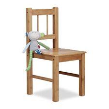 Relaxdays Petite Chaise enfant en Bambou Déco pour Plantes ou Fleurs HxLxP ...