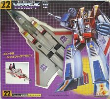 TAKARA Transformers Star Scream Destron 22 Aerial Military Staff  1980s Japan