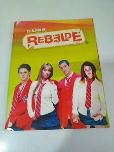 RBD REBELDE el Album de Cromos de Rebelde Album vacio sin cromos - 2T