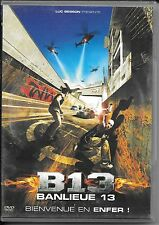 DVD ZONE 2--BANLIEUE 13 / B13--MOREL/NACERI/D'AMARIO/